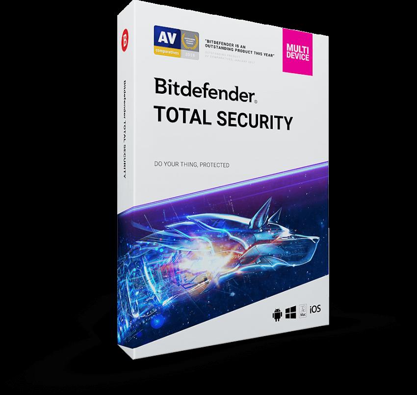 Bitdefender Total Security 2020 Crack + Keygen Download