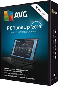 AVG PC TuneUp 19.1.1209 Crack With Keygen [Latest 2020]